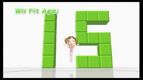 Pagal žaidėjo svorį, svorio centrą ir vikrumą, žaidimas sugeneruoja Fit amžių. Taip atspindimas skirtumas tarp fizinio pasirengimo ir biologinio amžiaus. Rytais rodiklis paprastai būna daug geresnis.